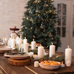 Joulukattaus ja -koristelu
